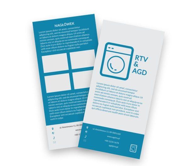 Jeden telefon i wszystko działa, Sprzedaż, RTV i AGD - Ulotki Netprint szablony online