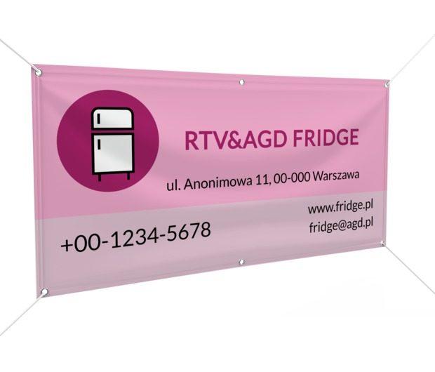 Przekaz, którego nie można nie zauważyć, Sprzedaż, RTV i AGD - Banery Netprint szablony online