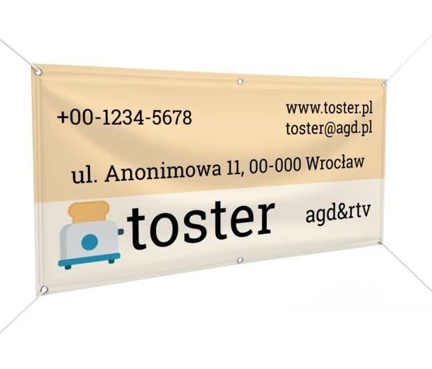 Bardzo smacznie, zdrowo i komfortowo, Sprzedaż, RTV i AGD - Banery Netprint szablony online