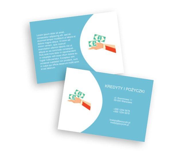Z pieniędzmi mi do ręki, Finanse Ubezpieczenia,  Kredyty / Pożyczki  - Ulotki Netprint szablony online