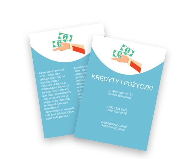 Pieniądz rodzi pieniądz, Finanse Ubezpieczenia,  Kredyty / Pożyczki  - Ulotki Netprint szablony online