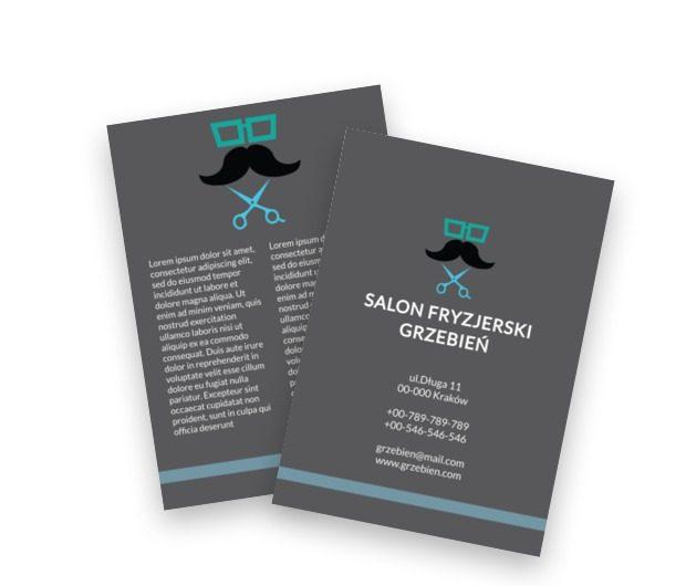 Marzenie włochatej głowy, Zdrowie i Uroda, Salon Fryzjerski - Ulotki Netprint szablony online