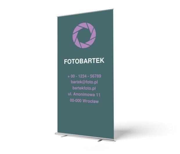 Elegancko i z pomysłem!, Fotografia, Usługi fotograficzne - Roll-up Netprint szablony online