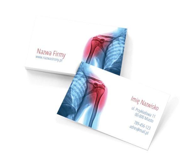 Pokonać ból, Medycyna, Rehabilitacja - Wizytówki Netprint szablony online