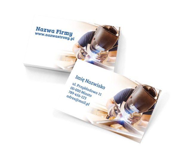 Usługi spawalnicze na najwyższym poziomie!, Usługi domowe, Serwisant - Wizytówki Netprint szablony online