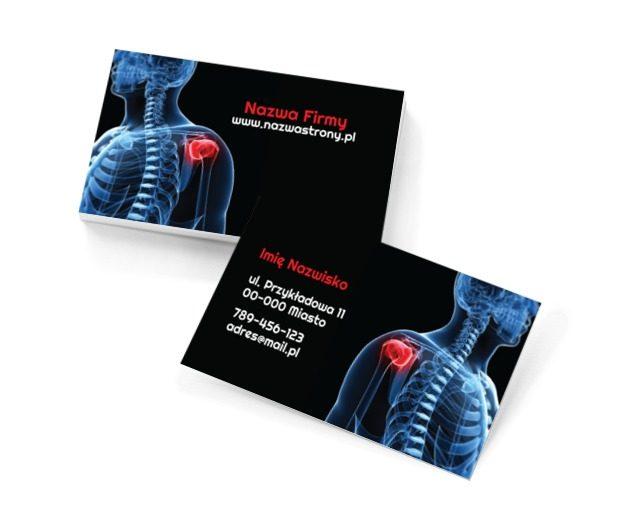 By ból przeminął, Medycyna, Rehabilitacja - Wizytówki Netprint szablony online