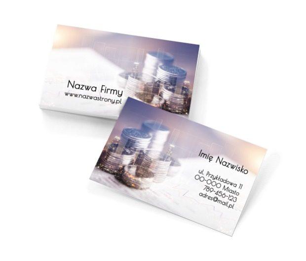 Gwarancja zysku to wasza dewiza, Finanse i ubezpieczenia, Biuro rachunkowe - Wizytówki Netprint szablony online